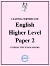 Leaving Certificate English Higher Level Paper 2 Interactive Exam Papers