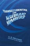 Transcendental And Algebraic Numbers
