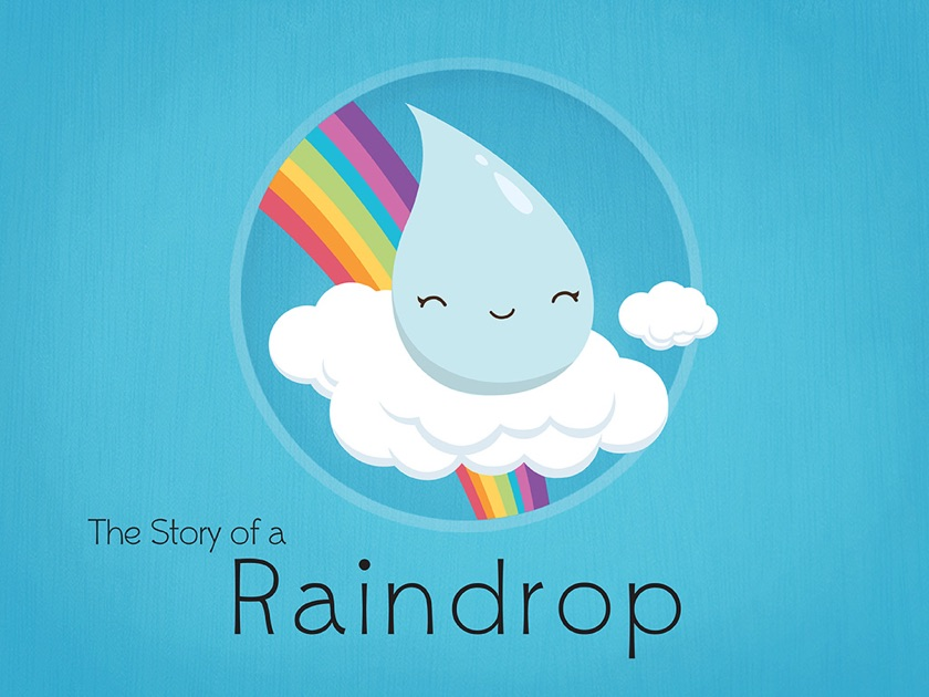 The Story of a Raindrop by Bridget Cull on iBooks