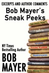 Bob Mayers Sneak Peeks