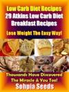 Low Carb Diet Recipes 29 Atkins Low Carb Diet Breakfast Recipes