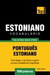 Vocabulrio Portugus-Estoniano 7000 Palavras Mais Teis