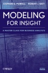 Modeling For Insight