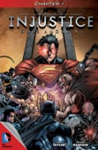 Injustice: Gods Among Us #1 - Tom Taylor & Jheremy Raapack Cover Art