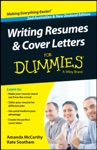 Writing Resumes And Cover Letters For Dummies - Australia  NZ