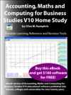Accounting Maths And Computing For Business Studies V10 Home Study