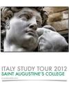 ITALY STUDY TOUR 2012