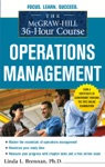 The McGraw-Hill 36-Hour Course Operations Management