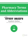 Pharmacy Terms And Abbreviations