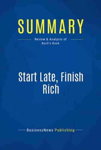 Summary Start Late Finish Rich