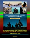 2015 Special Operations Forces Reference Manual Fourth Edition SOF Attributes Precision Strike USSOCOM Structure Africa Europe Korea Pacific Command And Control Ranger Missions SOAR
