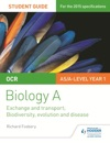 OCR ASA Level Year 1 Biology A Student Guide Module 3 And 4