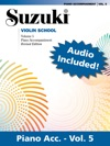 Suzuki Violin School - Volume 5 Revised