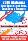 2016 Alabama Real Estate Exam Prep Questions And Answers