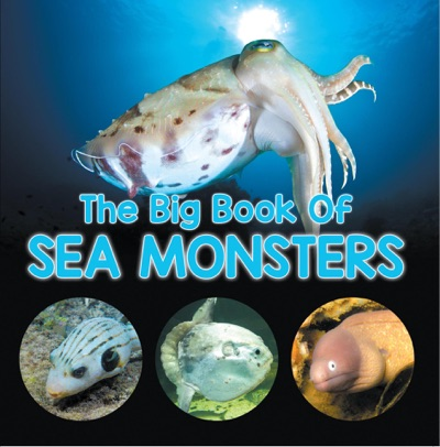 The Big Book Of Sea Monsters Scary Looking Sea Animals