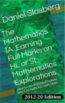 The Mathematics IA Earning Full Marks On HL Or SL Mathematics Explorations