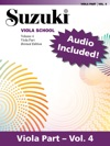 Suzuki Viola School - Volume 4 Revised