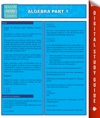 Algebra Part 1 Speedy Study Guides