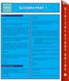 Algebra Part 1 Speedy Study Guides