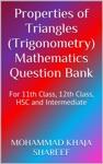 Properties Of Triangles Trigonometry Mathematics Question Bank