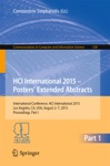 HCI International 2015 - Posters Extended Abstracts