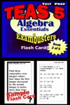 TEAS V Test Prep Algebra Essentials --Exambusters Flash Cards--Workbook 2 Of 5