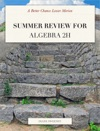 Summer Review For Algebra 2H