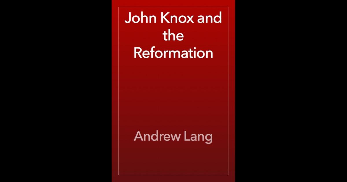 John knox reformation