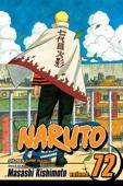 Naruto, Vol. 72 - Masashi Kishimoto Cover Art