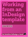 Working From An InDesign Template