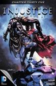 Injustice: Gods Among Us #35 - Tom Taylor & Tom Derenick Cover Art