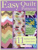 Easy Quilt Patterns: 11 Applique Quilt Patterns + Quick Quilts