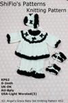 62- Angels Grace Baby Set Knitting Pattern 62