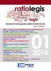 Ratio Legis Numero 1 Anno 2016