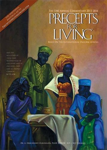 Precepts for Living 2015-2016