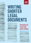 Writing Shorter Legal Documents