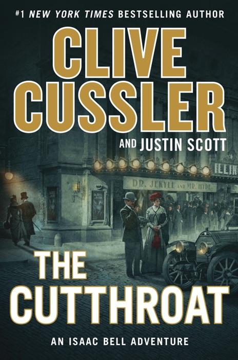 The Cutthroat Clive Cussler  Justin Scott Book
