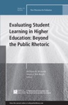 Evaluating Student Learning In Higher Education Beyond The Public Rhetoric