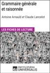Grammaire Gnrale Et Raisonne DA Arnauld Et C Lancelot