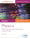 Edexcel ASA Level Physics Student Guide Topics 4 And 5