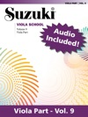Suzuki Viola School - Volume 9