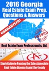 2016 Georgia Real Estate Exam Prep Questions And Answers