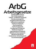 Arbeitsgesetze - ArbG 2016
