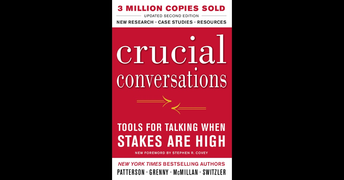Crucial Conversations – Chad Sanchez