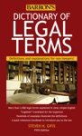 Dictionary Of Legal Terms 5th Edition