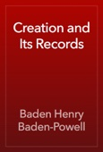 Baden Henry Baden-Powell - Creation and Its Records artwork