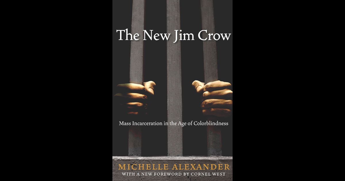 the new jim crow by michelle alexander Michelle alexander is a highly acclaimed civil rights lawyer, advocate, and legal scholar in 2005, she won a soros justice fellowship, which supported the writing of the the new jim crow: mass incarceration in the age of colorblindness (the new press), and the same year she accepted a joint appointment at the kirwan institute for the study of race and ethnicity and the moritz.