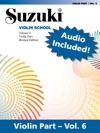 Suzuki Violin School - Volume 6 Revised