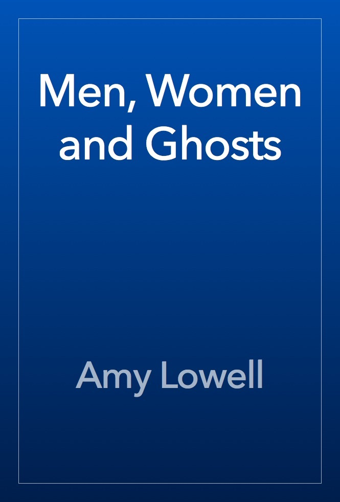 irony by amy lowell