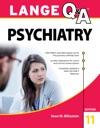 Lange QA Psychiatry 11th Edition